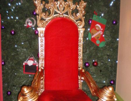Fauteuil du Père Noël