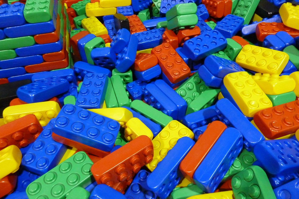 Jeux legos géants (plus de 200 pièces)