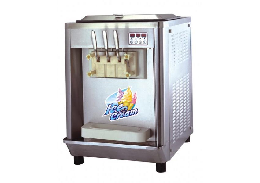 Machine à glace à l'italienne