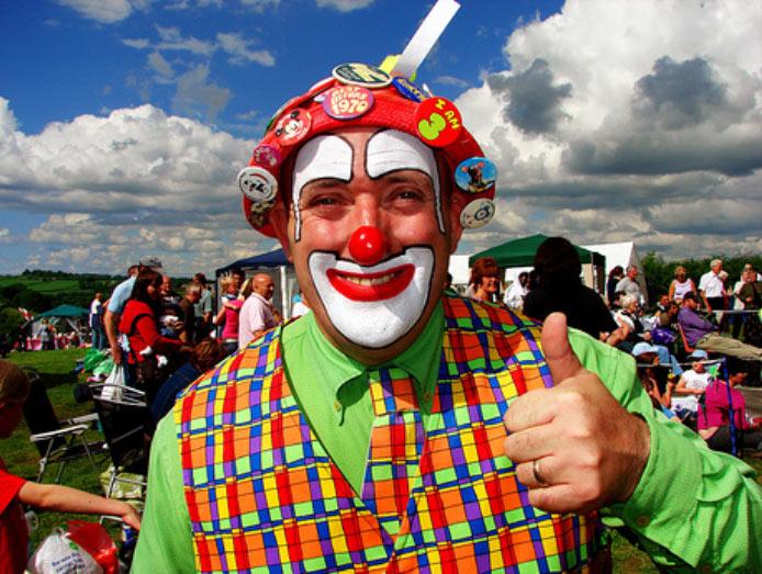 Spectacle de clowns pour anniversaire